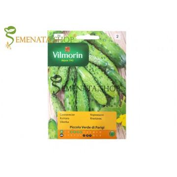 Семена на корнишони Малки от Париж - Вилморин