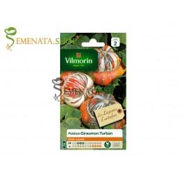 Семена на декоративна тиква Тюрбан Giraumon Turban Вилморин с приятен фин вкус