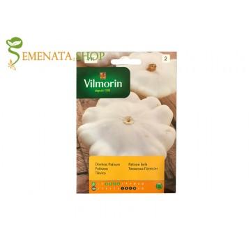 Семена на тиквичка бял Патисон (Patison) от Вилморин