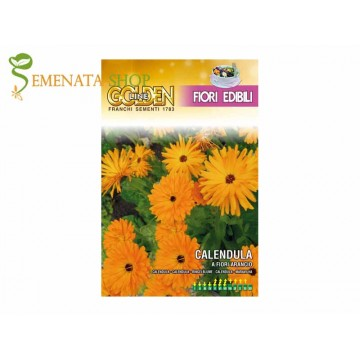 Семена на Невен оранжев - ядливи цветове
