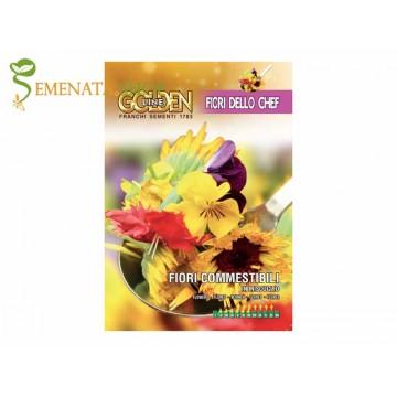 Семена от ядливи цветя