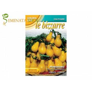 Семена на домати Жълт крушовиден