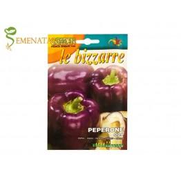 Семена на лилав пипер камби Ода - екзотичен и атрактивен за салати с удобна форма за пълнене