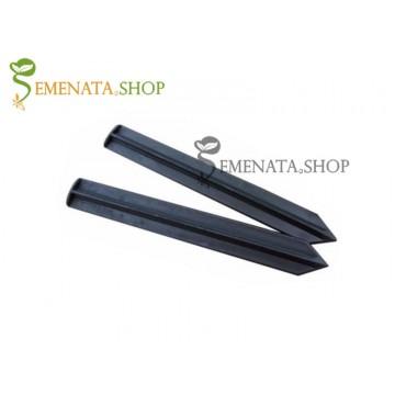 Здрави пластмасови пирони за монтаж на ограничителни ленти – UV защита и дължина 250 мм