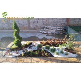 Ограничителни ленти за градина с UV защита и височина 45 мм