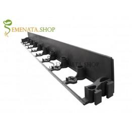 Градинска бордюрна лента за райграс и тревни площи с УВ защита и височина 45 мм
