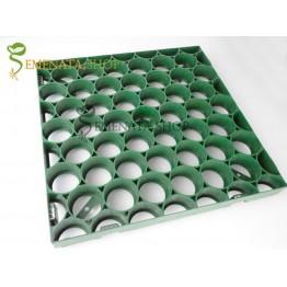 Качествени решетъчни тела за паркинг от полиетилен с висока плътност и UV защита