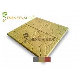Плочки ръчно производство 30/30/3 см с декоративни елементи модел Камък