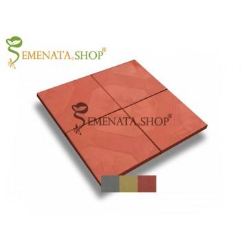 Плочки ръчно производство 30/30/3 см с декоративни елементи