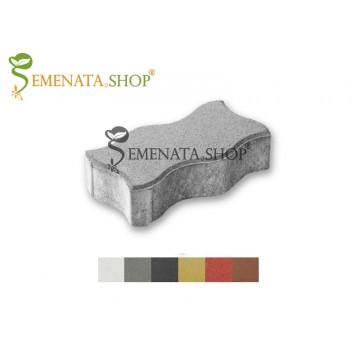 Бетонно паве с вълнообразна форма - 24/12/6 см (кв.м)