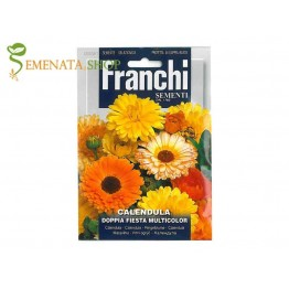 Семена на Невен (Календула) с двойни цветове микс - Franchi