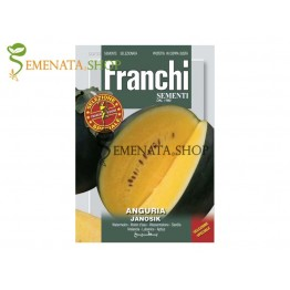 Семена на жълта диня сорт Яносек (Janosik) - Franchi