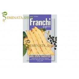 Семена на Увивен фасул Маравиля де Венеция - черни зърна (Чудото на Венеция)