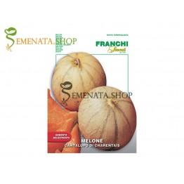 Семена на пъпеш Канталупо ( Cantalupo di Carentais) - сочен, сладък и много ароматен
