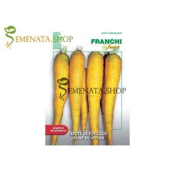 Семена на екзотичен Жълт морков (Jaune Du Doubs)