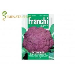 Семена на виолетов карфиол Сицилия Виолет - страхотен вкус и колорит