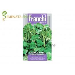 Семена на Зелен цилиндричен нисък фасул Кропър Типи - Cropper Teepee