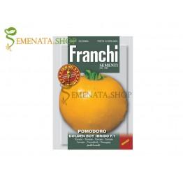 Вкусни жълти домати - семена на Golden Boy F1 (Голдън Бой, Златно момче) - едър сорт