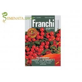 Професионални семена на домати чери Лилипут F1 - много сладки и родовити (безколов сорт)