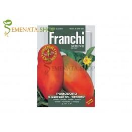 Семена на консервни Домати Сан Марцано селекция Редорта - сухи с тънка кожа и много малко семена