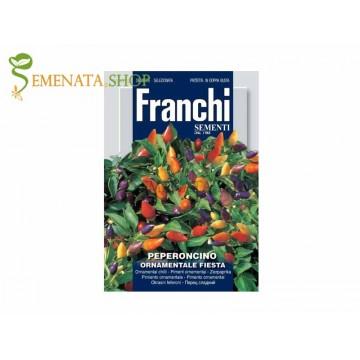 Качествени семена на люти чушлета за саксия и сандъче с интересни цветове