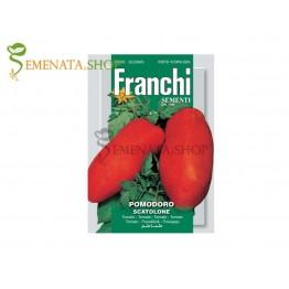 Семена на домати с форма на чушки - Скатолоне - екзотичен и много вкусен