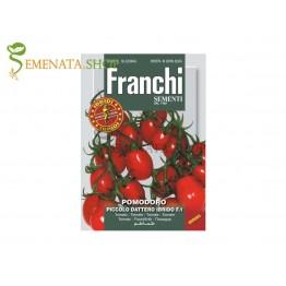Семена на домати чери продълговати Пиколо F1 - страхотен вкус и аромат