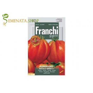 Семена на домати Къдраво сърце F1 - един изключително вкусен италиански домат