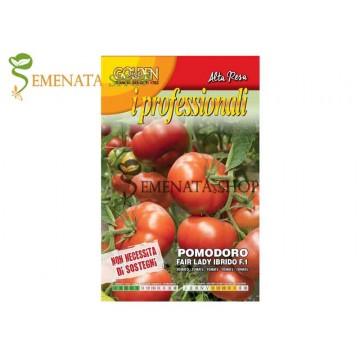 Безколови домати семена на Прекрасна Лейди F1 (Fair Lady Ibrido F1) - професионален, устойчив към болести и презряване