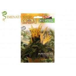 Семена на люти чушки за саксии - Румънски пипер жълт