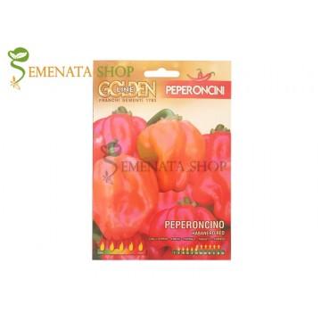 Семена на Супер Люти чушки Хабанеро червен - екстремният пипер на Semenata Shop