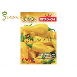 Семена на средно люти чушки Хабанеро жълт