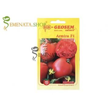 Семена на домати Армира F1 без зелен пръстен - нов сорт от Геосемселект ООД