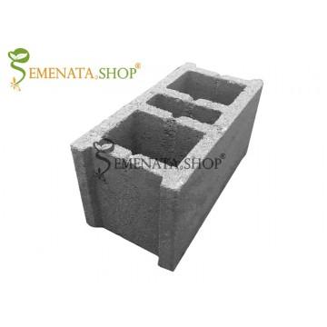 Кухи бетонни тухли 39/19/19 см с възможност за доставка в цялата страна
