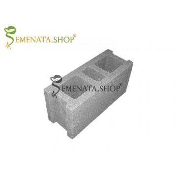 Качествени бетонови тухли за ограда с размер 40/15/19 см