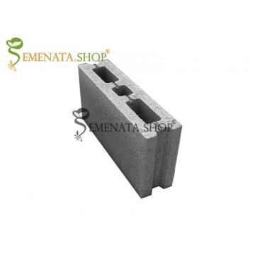 Тънки бетонни блокчета за ограда и преградна стена 40/10/19 см