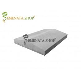Масивен бетонов капак за ограда и зид 39/27/6 см (до 60 бр. в палет)