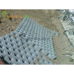 Бетонни паркинг елементи 60/40/10 см - вибропресовани с отлична здравина и визия