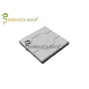 Бетонови тротоарни плочи с шарка 40/40/4,5 см