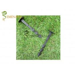 Пластмасов пирон за фиксиране на мулчиращо фолио с UV защита - 20 бр. в опаковка с дължина 12,5 см