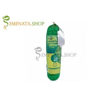 Мрежа за поддържане на фасул увивен и зеленчуци – UV стабилизирана с височина 1,7 м и отвори 15/17 см