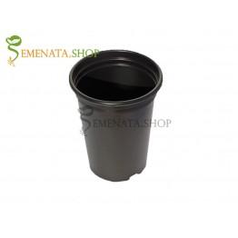 Работни саксии за рози от здрава и мека пластмаса - 2 литра (Ф14/H18 см)
