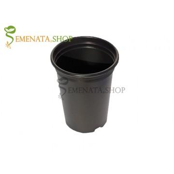 Работни саксии за рози от здрава и мека пластмаса - 3 литра (Ф16/H20 см)
