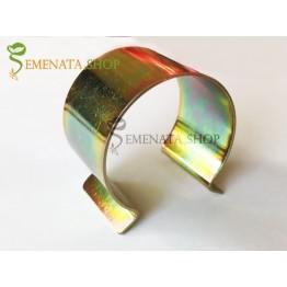 Метални скоби за закрепване на найлон за оранжерии - неръждаеми с заоблени ръбове