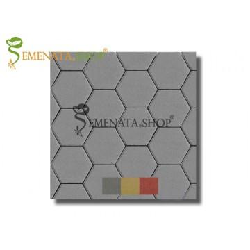 Бетоново паве хексагон 24/21/8 см (бр.)