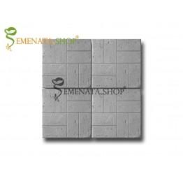 Бетонови плочки с елегантен орнамент тип Травертин 40/40/5 см