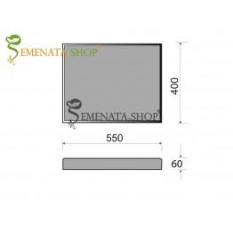 Бетоновa плоча за канавка 55/40/6 см с висока устойчивост