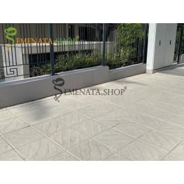 Бетонови тротоарни плочи с приятен дизайн 40/40/5 см