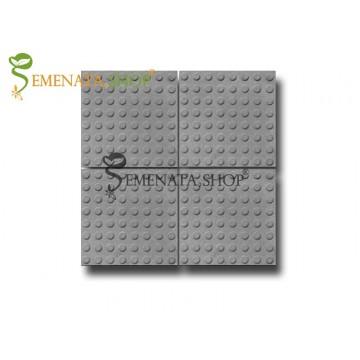 Тактилни плочки бетонови 40/40/5 см