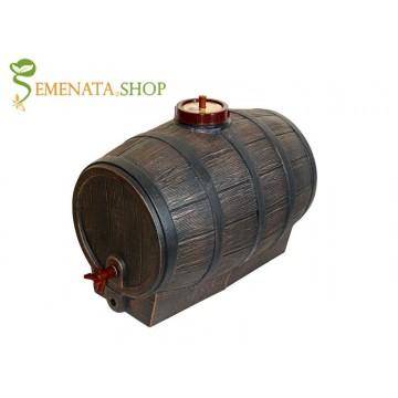Качествени пластмасови съдове за вино и ракия - Бъчва Барик 100 л